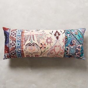 New Anthropologie Lavender pirra throw Pillow